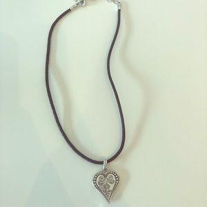 Brighton Ophelia Heart Necklace